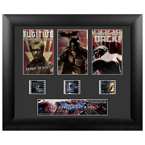 Batman Dark Knight Rises Series 1 Standard Triple Film Cell
