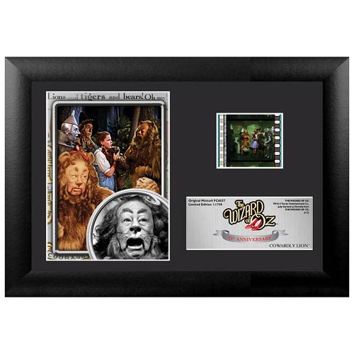 Wizard of Oz 75th Anniversary Cowardly Lion Mini Cell