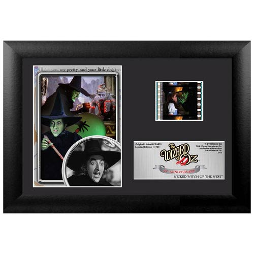 Wizard of Oz 75th Anniversary Wicked Witch Mini Cell