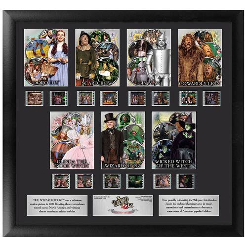 Wizard of Oz 75th Anniversary Series 1 Montage Film Cell