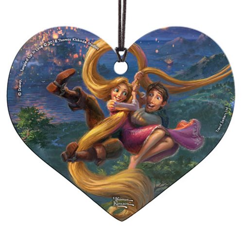 Tangled Up In Love Thomas Kinkade Hanging Acrylic Print