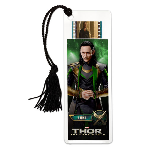Thor The Dark World Loki Bookmark