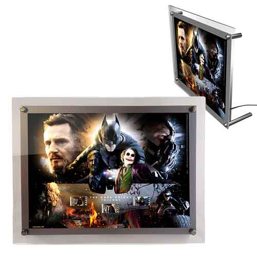 Batman Dark Knight Trilogy Acrylic LightCell Film Cell