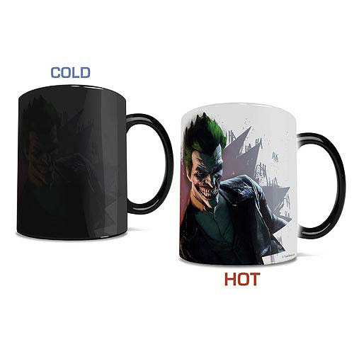 Batman Arkham Origins The Joker Morphing Mug