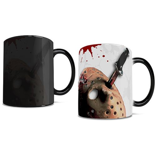 Friday the 13th Crystal Lake Morphing Mug