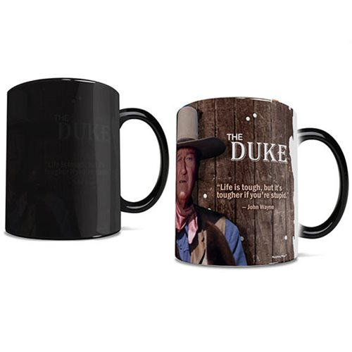 John Wayne The Duke Morphing Mug