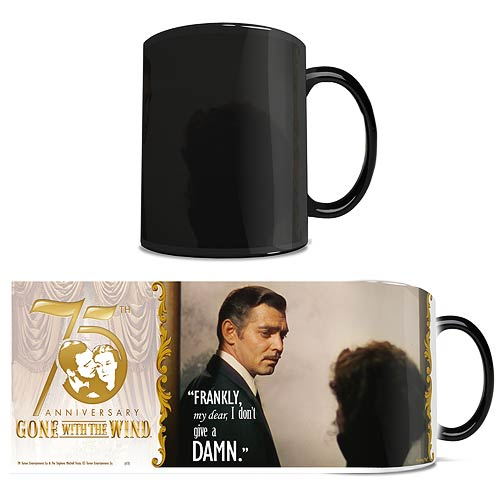 Gone with the Wind Frankly My Dear Morphing Mug