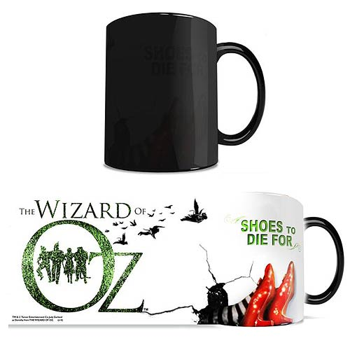 Wizard of Oz Shoes to Die for Morphing Mug