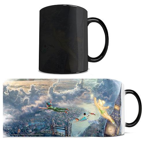Disney Peter Pan Thomas Kinkade  Studios Morphing Mug