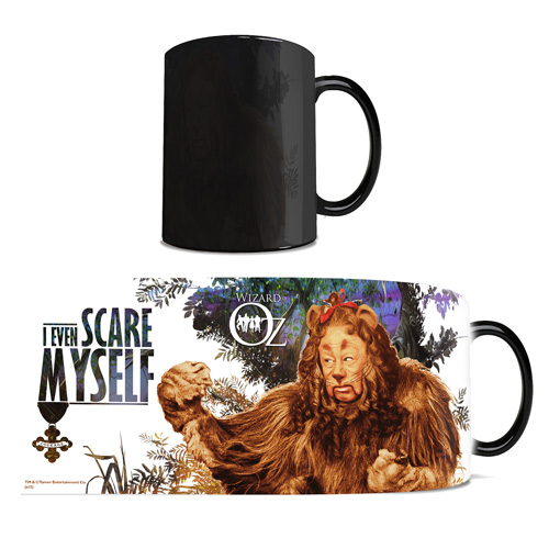 Wizard of Oz Cowardly Lion Morphing Mug