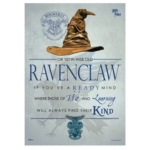 Harry Potter Sorting Hat Ravenclaw MightyPrint Art Print