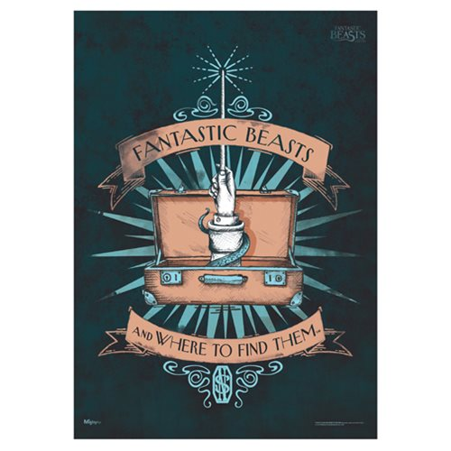 Fantastic Beasts and Where to Find Them Fantastic Beasts MightyPrint Wall Art Print
