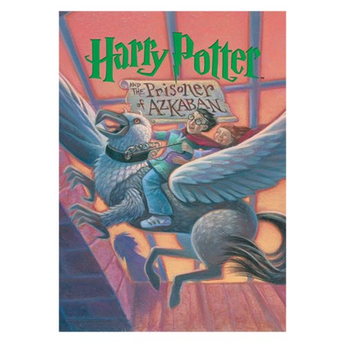 Harry Potter and the Prisoner of Azkaban Book Cover MightyPrint Wall Art Print