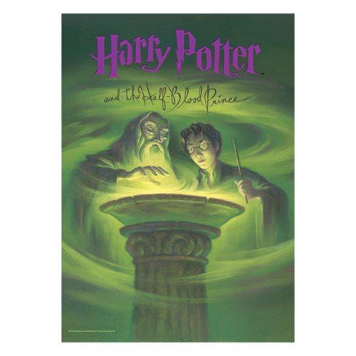 Harry Potter Book Cover Half Blood Prince : Harry potter half blood prince mightyprint wall art print