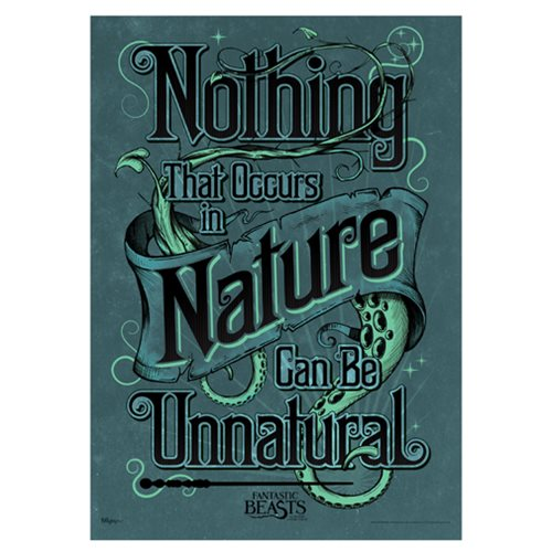 Fantastic Beasts Natural Nature MightyPrint Wall Art Print