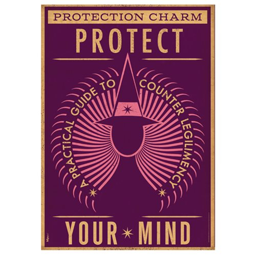 Fantastic Beasts Protection Charm MightyPrint Wall Art Print