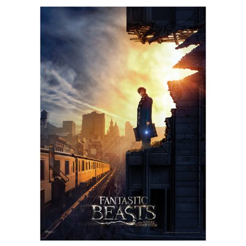 Fantastic Beasts and Where To Find Them New York MightyPrint Wall Art Print