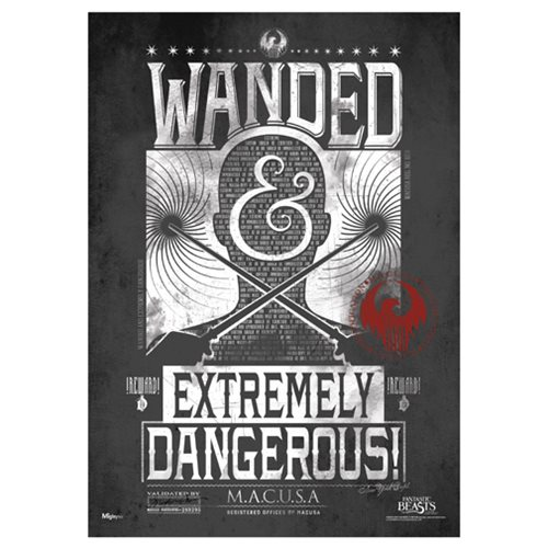 Fantastic Beasts and Where To Find Them Wanded Poster MightyPrint Wall Art Print