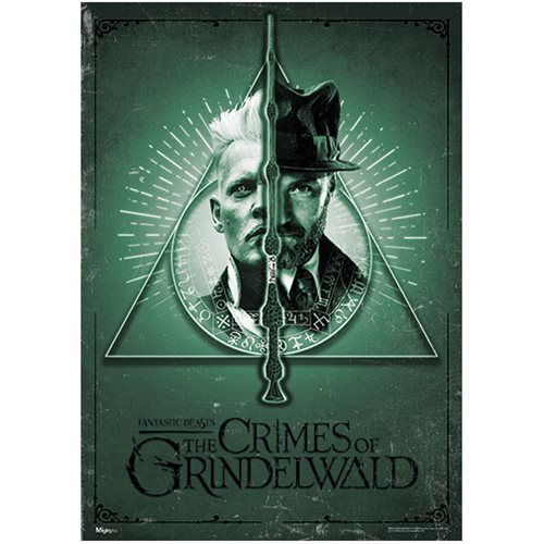 Fantastic Beasts: The Crimes Of Grindelwald Deathly Dual MightyPrint Wall Art Print