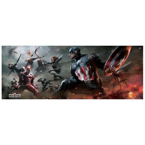 Captain America: Civil War Divided MightyPrint Wall Art