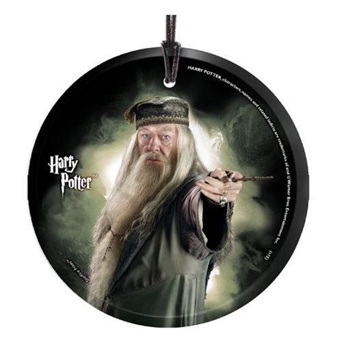 Harry Potter Dumbledore StarFire Prints Glass Ornament