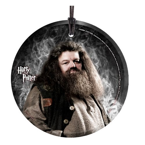 Harry Potter Hagrid StarFire Prints Hanging Glass Ornament