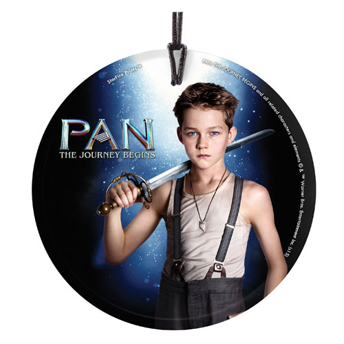 Pan The Journey Begins Peter Pan StarFire Prints Ornament