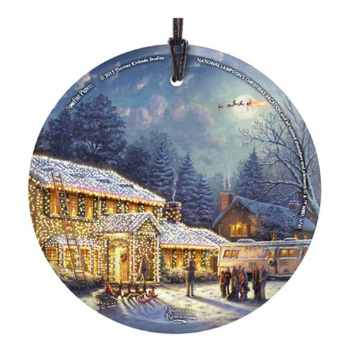 National Lampoons Christmas Vacation Outdoor Decorations : National lampoons christmas vacation thomas kinkade ornament