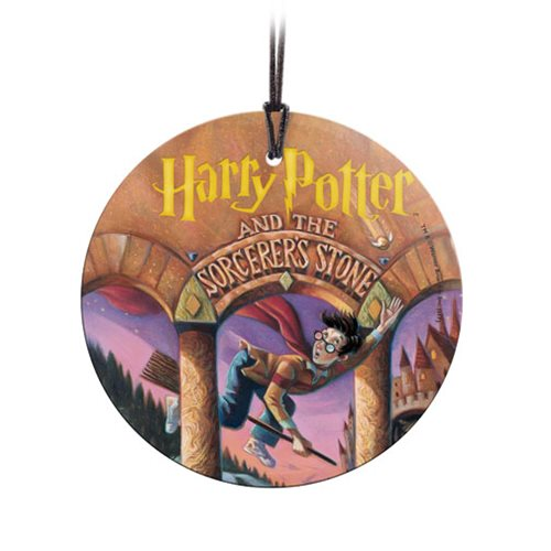 Harry Potter The Sorcerer's Stone StarFire Prints Hanging Glass Ornament