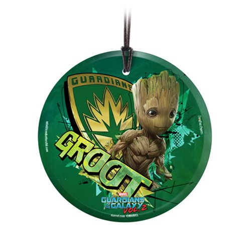 Guardians of the Galaxy Vol. 2 Baby Groot Glass Ornament