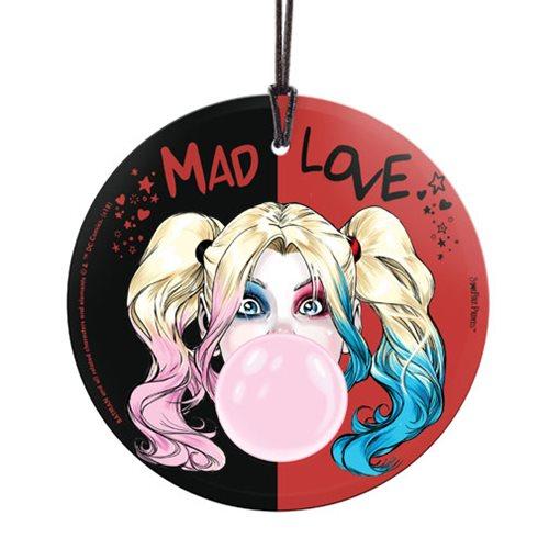 DC Batman Harley Quinn Mad Love StarFire Prints Hanging Glass Print
