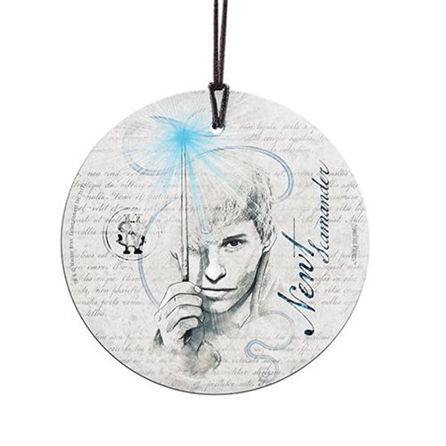 Fantastic Beasts: The Crimes of Grindelwald Newt Scamander StarFire Prints Hanging Glass Ornament