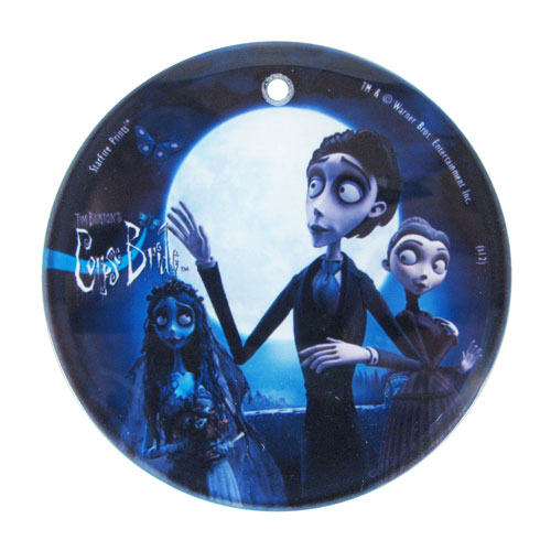 Corpse Bride Love Triangle Hanging Glass StarFire Print
