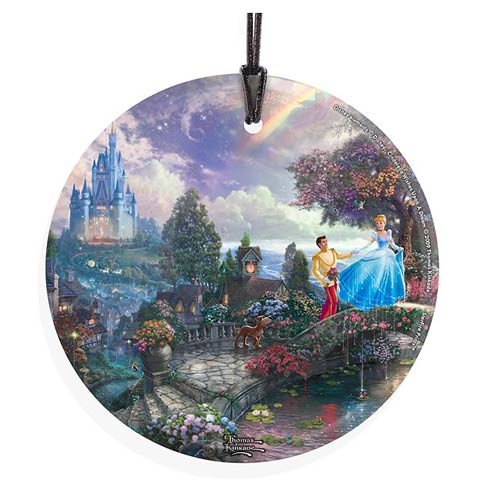 Cinderella Wish Upon a Dream Hanging Glass Print