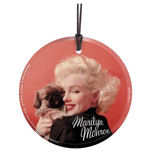 Marilyn Monroe Oriental Gown and Pekinese Hanging Print