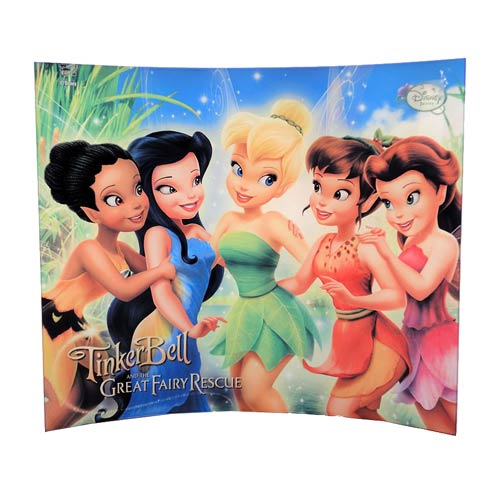 Tinker Bell and the Great Fairy Rescue Group Hug Glass Photo