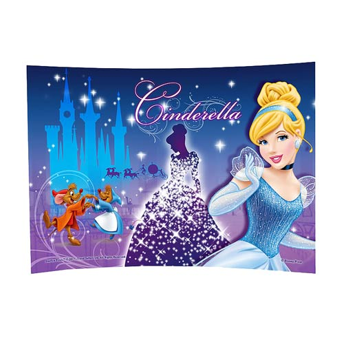 Cinderella Time To Celebrate Curved Glass StarFire Print