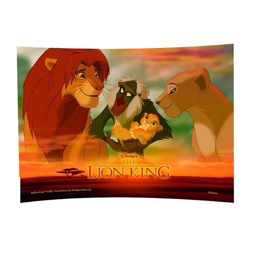 Lion King Future King Curved Glass StarFire Print