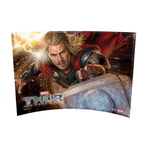 Thor 2 Thor Attack Curved Glass StarFire Print