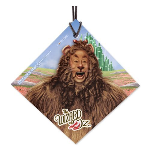 Wizard of Oz Lion StarFire Prints Hanging Glass Ornament