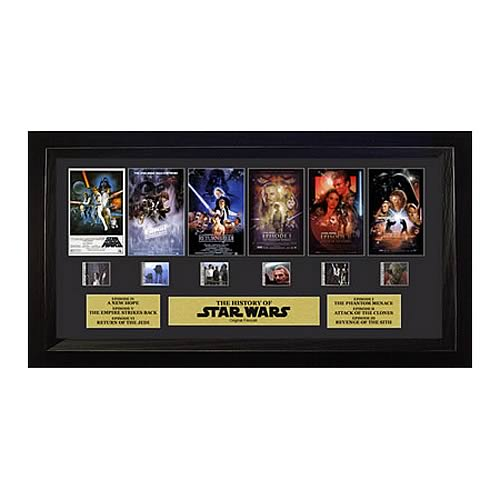 Star Wars Through the Ages Special Edition Montage Film Cell