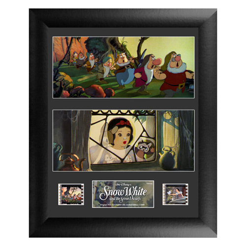 Snow White and the Seven Dwarfs Series 2 Double Film Cell