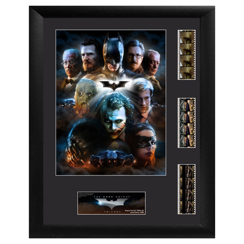 Batman The Dark Knight Trilogy Series 1 Triple Film Cell