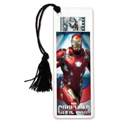 Captain America: Civil War Iron Man Film Cell Bookmark