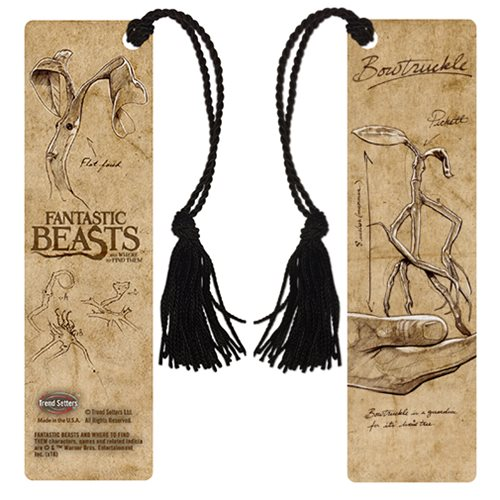Fantastic Beasts and Where to Find Them Bowtruckle Bookmark