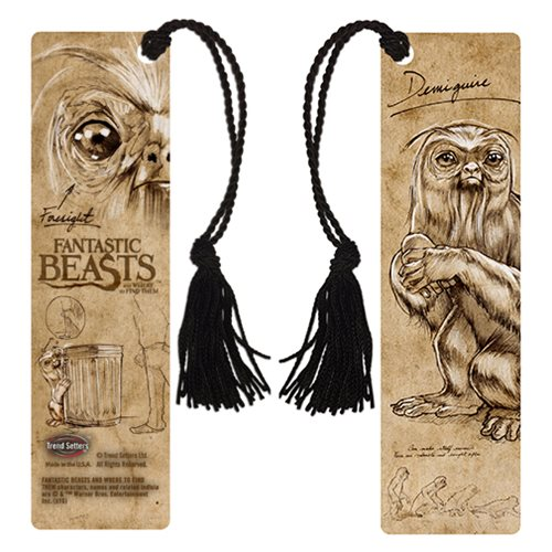 Fantastic Beasts and Where to Find Them Demiguise Bookmark