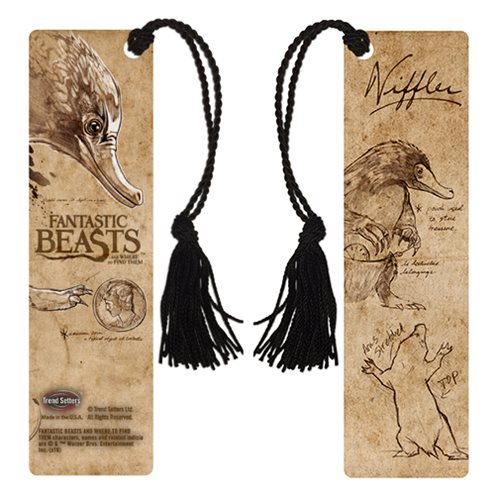 Fantastic Beasts and Where to Find Them Niffler Bookmark