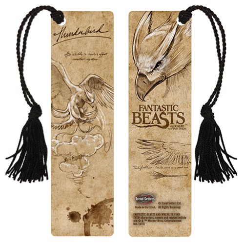 Fantastic Beasts and Where to Find Them Thunderbird Bookmark