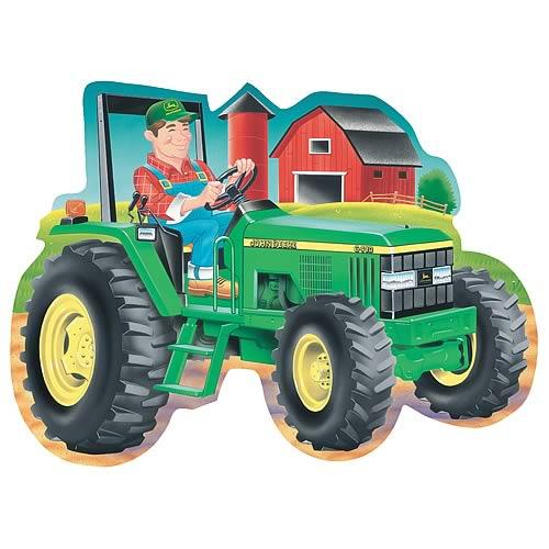 John Deere Tractor 34-Piece Shaped Floor Puzzle