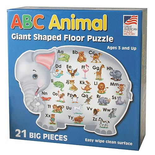 ABC 12-Piece Shaped Floor Puzzle
